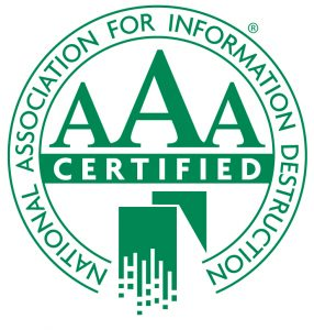 NAID AAA Certification